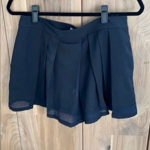 Dark Navy blue skorts